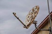 Rusty Parabolic Antenna