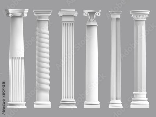 Fototapeta Antique greek pillars