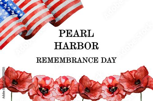 Obraz na plátně Pearl Harbor Remembrance Day