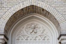 Church Marys Arched Entrance W...