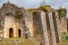 Blaye. Ruines Du Château Fort De La Citadelle,. Gironde. Nouvelle-Aquitaine. France