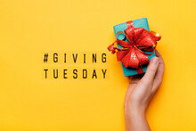 Giving Tuesday. Global Day Of ...