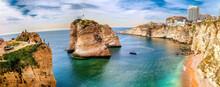 Panoramic Photo Of Pigeon Rock...
