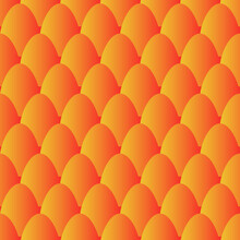 Fish Scales Seamless Pattern. Mermaid Tail Background