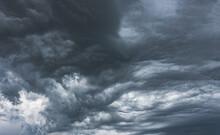Stormy Sky Before Rain Thunder...