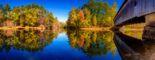 Panoramic View Of Saco River A...