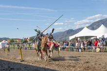 Medieval Tournament And Fair In Osoyoos, British Columbia, Canada