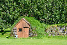 Old Traditional Turf Storage S...