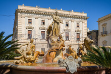 Diana Fountain On The Square A...