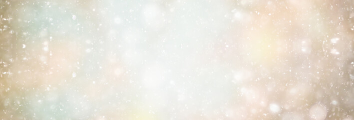 abstract white light blurred snow background, glamor christmas glow design