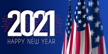 2001 Happy New Year USA