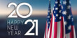 2021 Happy New Year USA
