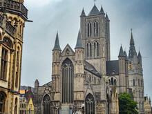Saint Nicholas Church In Ghent...