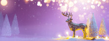 Christmas Banner Background Wi...