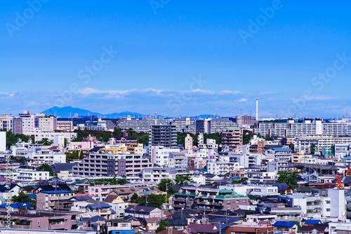 Fototapeta 千葉市街 【千葉市の都市風景】
