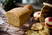 Food Photograph Of Bread