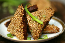 Shrimp Toasts With Scallion