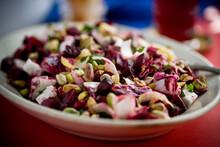 Roasted Beet Salad Served On P...