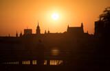 Fototapeta Londyn - zachód słońca Warszawa