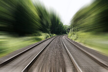 Double-track Railroad Railway ...