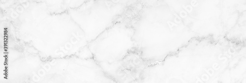 Billede på lærred Marble granite white panorama background wall surface black pattern graphic abstract light elegant gray for do floor ceramic counter texture stone slab smooth tile silver natural