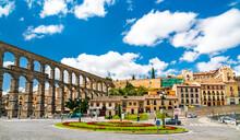 Ancient Roman Aqueduct Of Sego...
