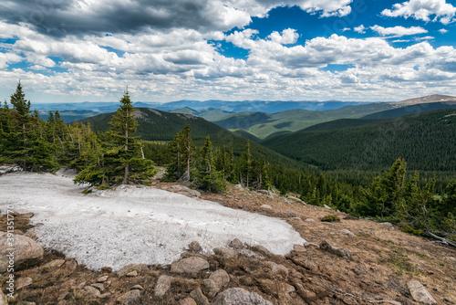 Landscape in the Mount Evans Wilderness