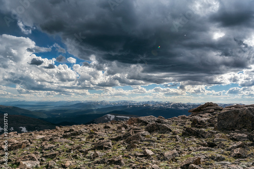 Cloudscape in the Mount Evans Wilderness