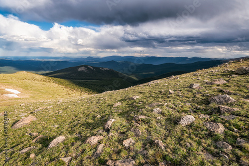 Tundra Landscape in the Mount Evans Wilderness