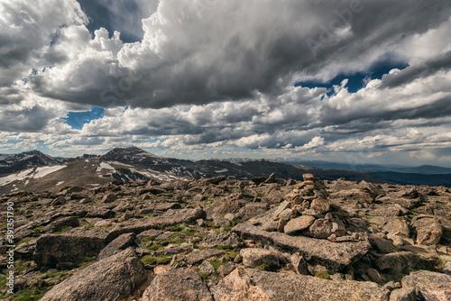 Rugged Landscape in the Mount Evans Wilderness