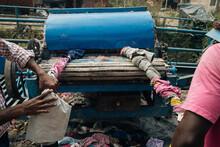 Recycling Textile In Kathmandu, Nepal