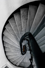 Spiral Staircase Made Of Marbl...
