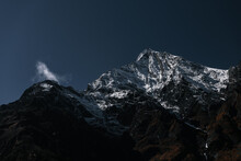 View On A Snow Capped Annapurn...