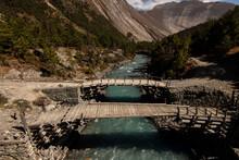 Himalayan Landscape - Old Wood...