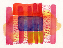 Colorful Abstract Illustration.