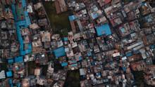 Kathmandu Drone Shot From Above