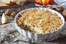 Apple Crumble With Walnuts And...