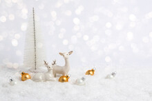 White Christmas Greeting Card....