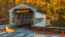The Knox Covered Bridge At Val...
