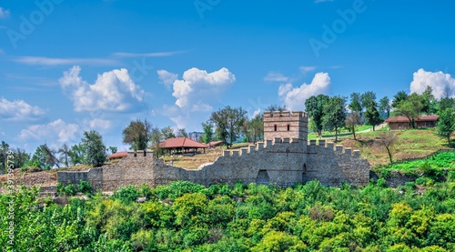 Papel de parede Fortification walls of Tsarevets fortress in Veliko Tarnovo, Bulgaria