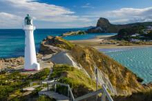 Castle Point Lighthouse Castle...