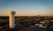 Water Tower Of The City Of St.Louis Park In Minneapolis, Minnesota USA