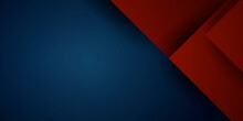 Abstract 3d Dark Blue Background With A Combination Of Luminous Red Overlap Style Graphic Design Element