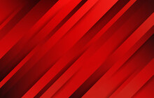 Abstract Red Background. Diago...