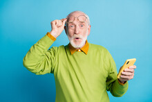 Photo Of Pensioner Grandpa Hol...