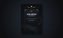 The Luxury Award Ceremony Flyer Poster Design Template