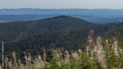 Fototapeta Bieszczady po horyzont  obraz