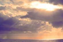 Dramatic Sky Over The Atlantic...