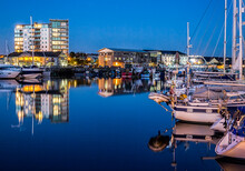 Yachts Moored At The Plymouth ...