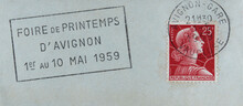 Post Letter Mail Brief Stempel...